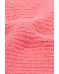 The Elder Statesman - Pink Watchman Ribbed Cashmere Beanie - Lyst