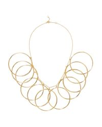 Arme De L'Amour - Metallic Halo Gold-plated Necklace - Lyst
