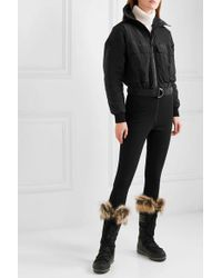 CORDOVA Black Telluride Convertible Paneled Ski Suit