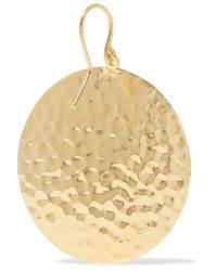 Jennifer Meyer Metallic Gehämmerte Ohrringe Aus 18 Karat Gold