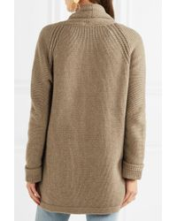 J.Crew - Natural Cotton-blend Cardigan - Lyst