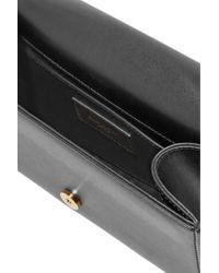 Saint Laurent Black Monogramme Kate Small Leather Shoulder Bag
