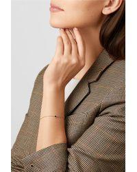 Alison Lou Metallic 14-karat Gold, Diamond And Enamel Bracelet