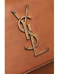 Saint Laurent Brown Sunset Medium Leather Shoulder Bag