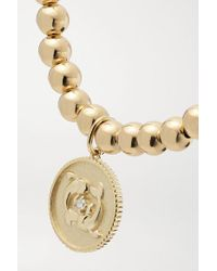 Sydney Evan Metallic Pisces Armband Aus 14 Karat Gold Mit Diamant