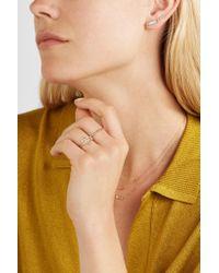 Wwake - Metallic Eye 14-karat Gold Opal Earring - Lyst