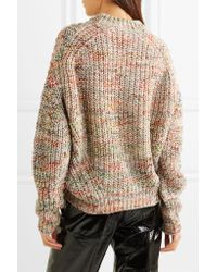 Acne Natural Zora Chunky-knit Sweater