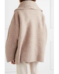 Lauren Manoogian Natural Knitted Coat