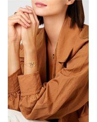 Delfina Delettrez - Metallic 18-karat Gold Multi-stone Bracelet - Lyst