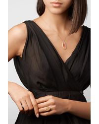 Melissa Joy Manning Metallic 14-karat Gold, Dendritic Agate And Diamond Necklace