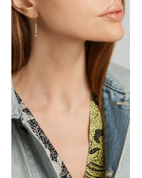Jennifer Meyer - Metallic Mini Stick 18-karat Gold Diamond Earrings - Lyst