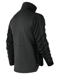 New Balance Black R.w.t. Double Knit Jacket for men