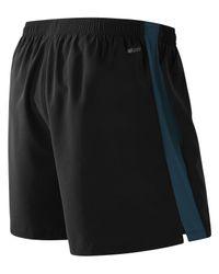 New Balance Black Accelerate 5 Inch Short for men