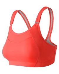New Balance | Red The Shockingly Unshocking Bra | Lyst