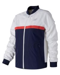 Lyst - New Balance Nb Athletics 78 Jacket in White for Men af9aa729a832f