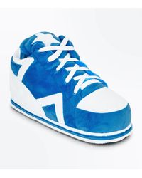 New Look Bright Blue Trainer Slippers for men