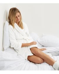 New Look   Natural Cream All You Need Is Sleep Slogan Dressing Gown   Lyst