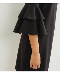 New Look Black Bell Sleeve Tunic