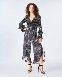Nicole Miller Black Dotty Selena Pants