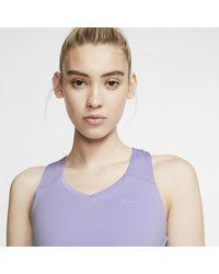 Canotta da tennis Court Team Pure di Nike in Purple