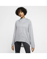 Giacca da running Shield di Nike in Gray