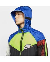 Giacca da running Wild Run Windrunner di Nike in Blue da Uomo