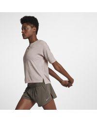 Nike Multicolor Medalist Women's Short Sleeve Running Top
