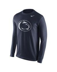 Nike - Blue College Logo (penn State) Men's T-shirt for Men - Lyst