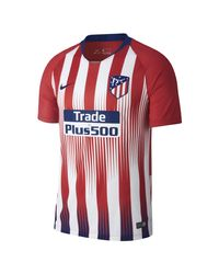 Nike Red Atlético De Madrid 2018-2019 Vapor Match Home Strip T-shirt for men
