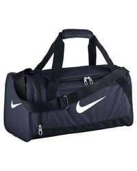 00a3ea4cfd Lyst - Nike Brasilia 6 (extra Small) Duffel Bag (blue) in Blue for Men