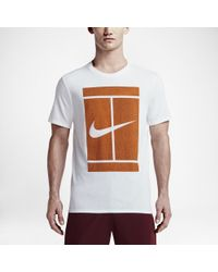 t shirt nike tennis court
