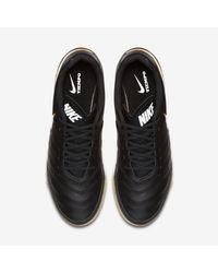 Nike Black Tiempo Genio Ii Leather Ic for men