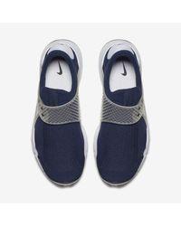 Nike Blue Sock Dart for men