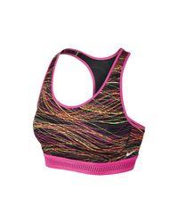 Nike - Pink Pro Fierce Accelerator Women's Sports Bra - Lyst