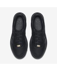 Nike Black Lunar Force 1 G Premium for men