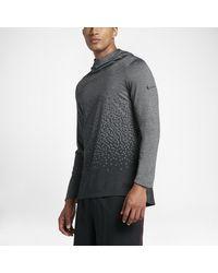 Nike Gray Dry Lebron Men's Basketball Hoodie for men