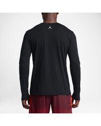 Nike Black Jordan Flight 23 Dri-fit for men
