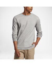 Nike Gray Sb Men's Shirt for men