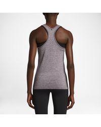 Nike Purple Dri-fit Knit