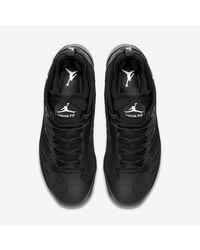 Nike Black Jordan Super.fly 5 for men