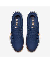 Nike Blue Court Air Zoom Ultra Men's Tennis Shoe for men