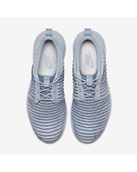 Nike Blue Roshe Two Flyknit Women's Shoe