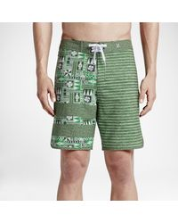 Nike Green Hurley Block Party O'hurley for men
