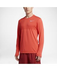 Nike Red Zonal Cooling Relay for men