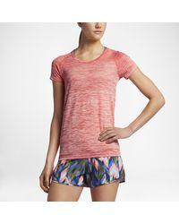 Nike Orange Dry Knit
