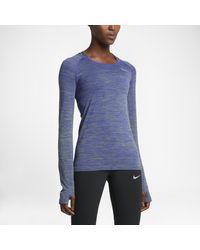 Nike Blue Dry Knit