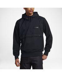 Nike Black Sb Everett Repel Anorak for men