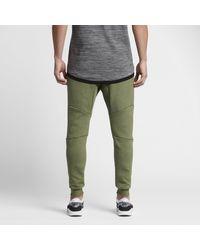 Nike Green Sportswear Tech Fleece for men
