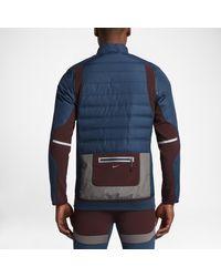 Nike Blue Lab Gyakusou Aeroloft Zip Off Men's Running Jacket for men
