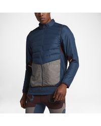 Nike Blue Lab Gyakusou Aeroloft Zip Off Men
